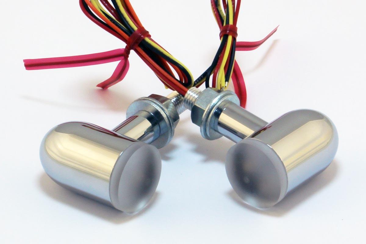 X Arc Lights The Brightest Led Brake Turn Signals Tail 10v Wiring Diagram Chrome Housing